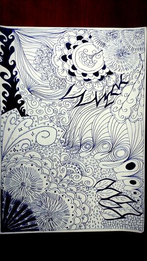 Drawing Tangle Zentangles Testing Relaxing Playing Making Art Draw In My Head Creative Zentangle