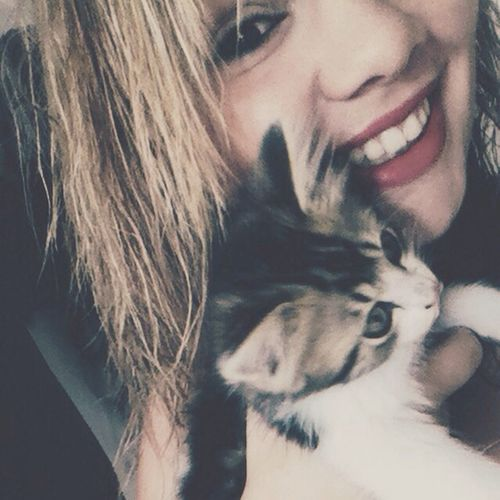 Cat♡ Bebe Chaton ♥ Loulou ♥ That's Me Smile Wadada 💚