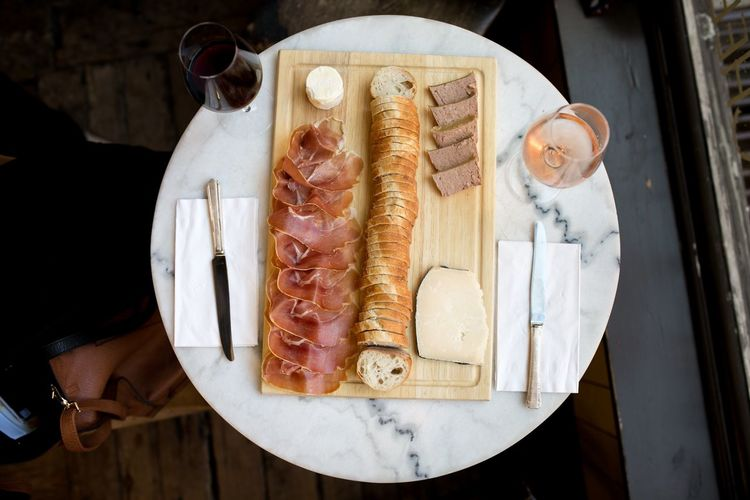 Cheese Wine Charcuterie Board Charcuterie Food And Drink Food Table Indoors  Freshness High Angle View Food Stories Close-up Meat Food Stories