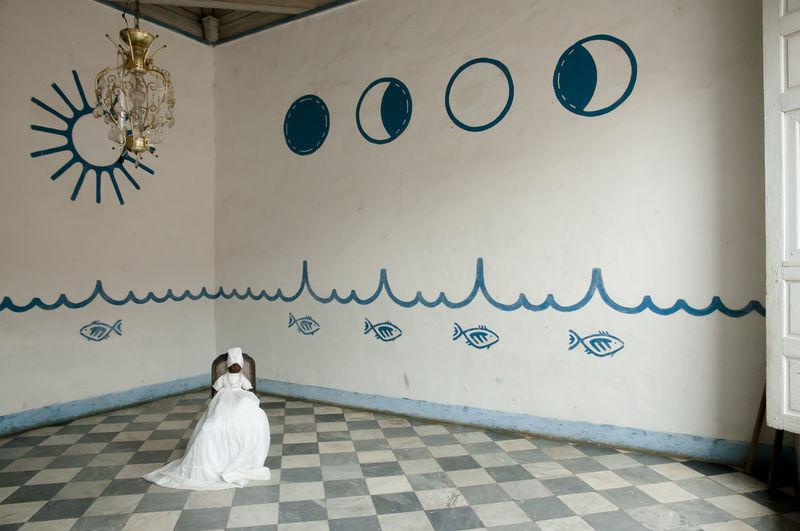 Santeria Religion Room Room Religion Santeria Voodoo Wedding Dress