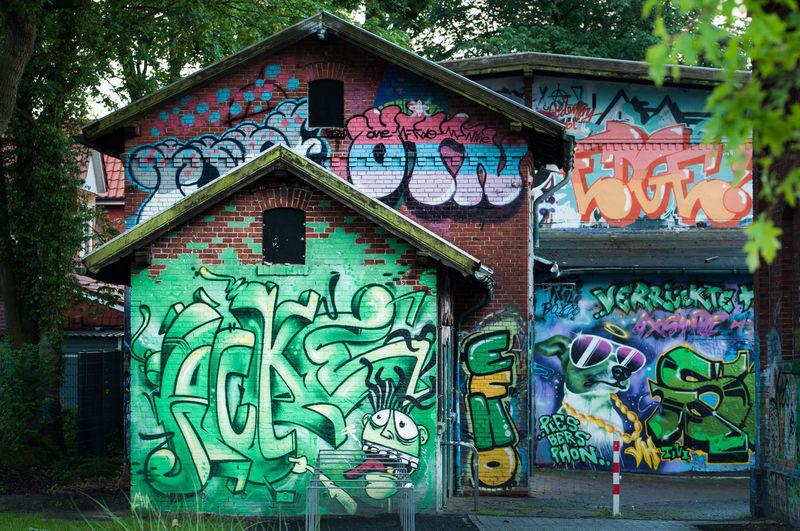 Architecture Art Built Structure Creativity Day Design Façade Juz Multi Colored No People Ornate Outdoors Street Art