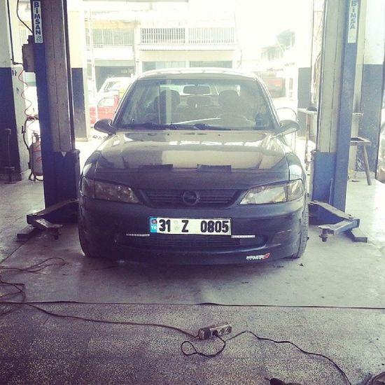İskenderun Vauxhall Vectra Opel mein neuer frontspoiler Ön lip