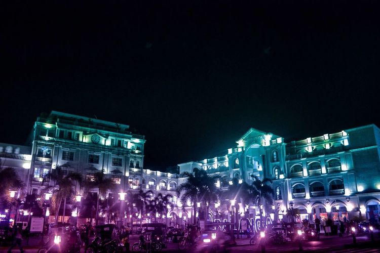 City of balanga Night Large Group Of People Illuminated Architecture Built Structure Building Exterior Arts Culture And Entertainment Crowd Women Real People Music Leisure Activity Men Outdoors Lifestyles Clear Sky Sky City People Iphonephotography
