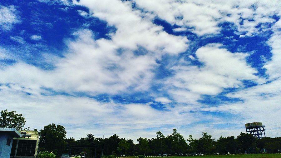 Peace . Cloudy