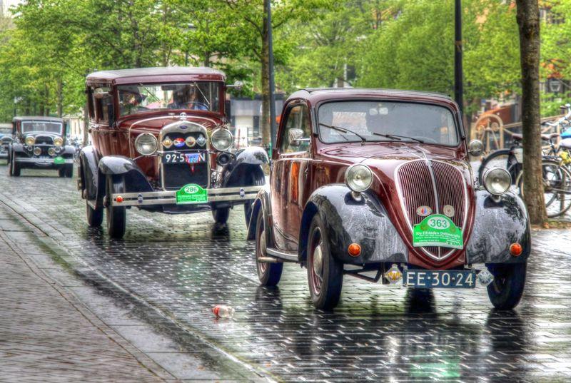 Cars HDR HDR Collection Holland Leeuwarden Oldtimer Rob Handgraaf Fotografie Transportation