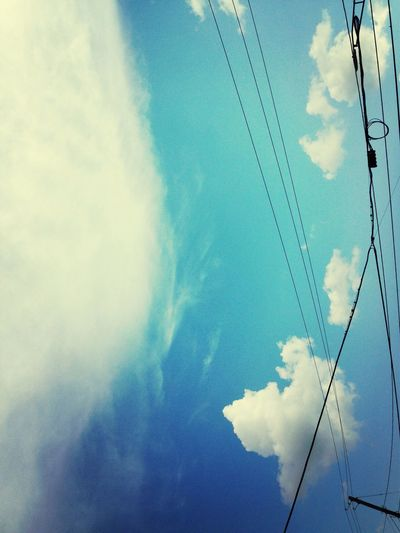 Clouds And Sky Blue Sky Boost Filter EyeEmNature Lover