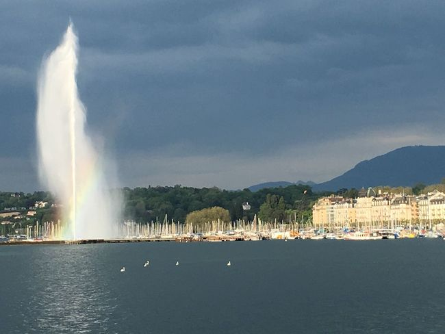 First Eyeem Photo Geneva Rainbow Switzerland Jetdeau Nature