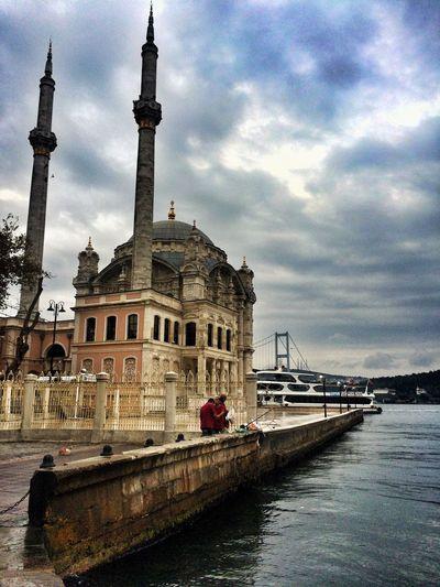 Ortaköy Ortaköycamii Mosque Ortaköy Mosque Sonbahar Autumn Istanbul Sonbaharhavası