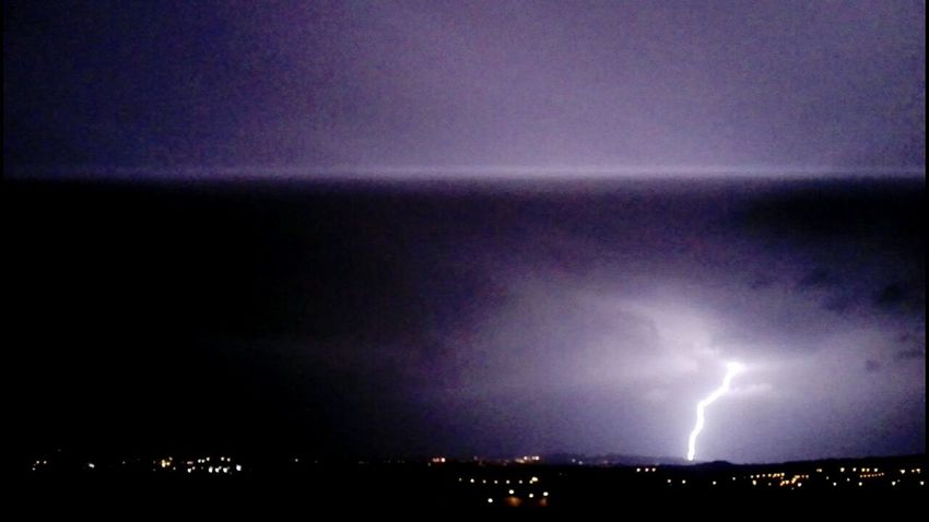 Night Lightning Thunderstorm Power In Nature No People Sky Illuminated Outdoors Forked Lightning Nature Beauty In Nature