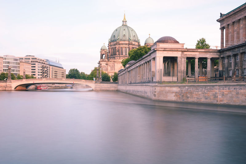 Berlin Cathedral at sunset Berlin Berlin Cathedral Berlin Mitte Berliner Dom Copy Space Spree River Berlin Architecture Belief Building Building Exterior Built Structure City Dome Government Museum Island Berlin Nature No People Outdoors Place Of Worship Religion River Sky Spirituality Summer In Berlin Sunset In Berlin Tourism Travel Travel Destination Travel Destinations Water Waterfront