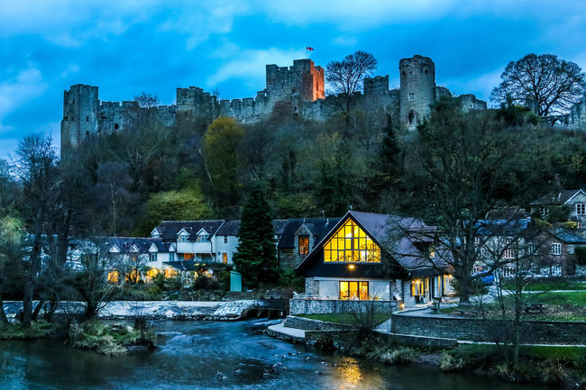 The Linney, Ludlow At Night Castle Dusk English Countryside English Town Landscape Landscapes Ludlow Ludlow Castle Ludlow Shropshire Ludlowcastle Night Night Lights Night Photography Night Time Night Time Photography Nightphotography River Shrine South Shropshire The Linney West Midlands