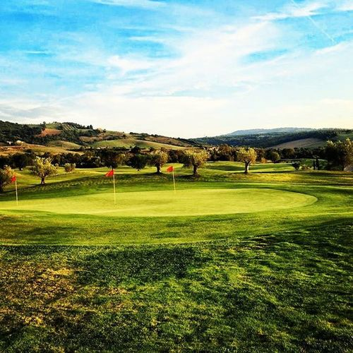 Golf Golfcourse Italy Tuscany Saturnia Beautifulgolfcourses