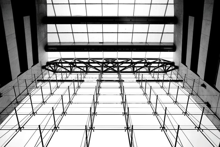 Indoors  Pattern Architecture Metal Grate Glass Black Diamond Copenhagen Copenhagen Architecture Modern