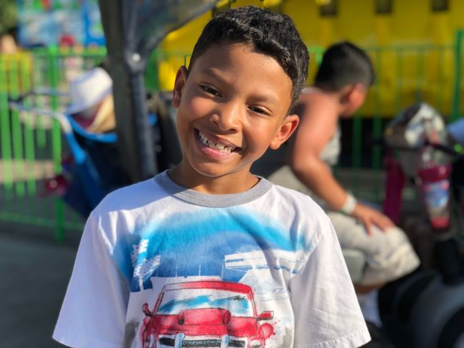 My young man Summer Cincinnati Ohio Kings Island Child Childhood Smiling Portrait Real People Looking At Camera Happiness Innocence