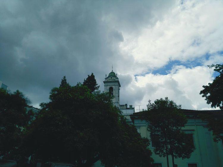 Lisbon Lisbonlovers Portugal Church Sky Clouds Sky And Clouds Tree The Street Photographer - 2016 EyeEm Awards Honor6
