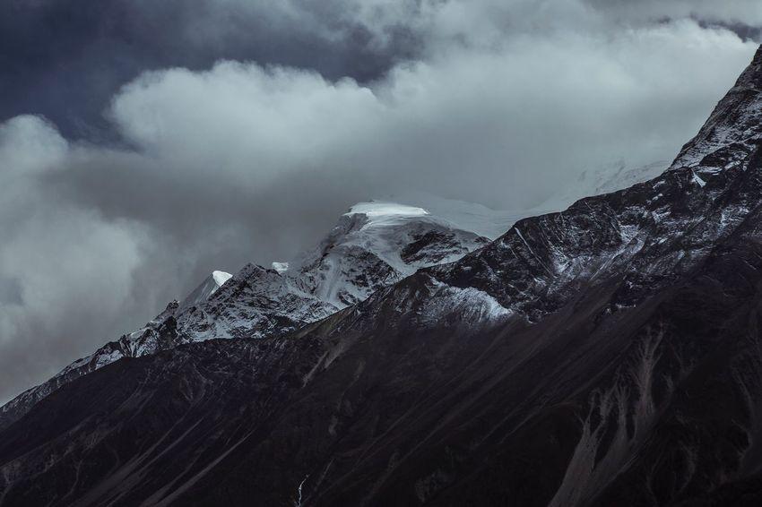 Mountain Mountains Himalayas Himalaya Nepal Trekking Mountain Range Mountain View Nature Beauty In Nature Scenics Landscape Outdoors Snowcapped Mountain