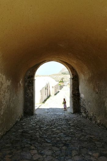Arch Architecture History Built Structure Tunnel Tunnel View Perspective Dreamlike Dream Dreamscape Tradition Traditional Village Byzantine Traditional Culture Gameofthrones Byzantine Empire Byzantine Church Byzantine Architecture Travel Destinations Kythira  Greek Village