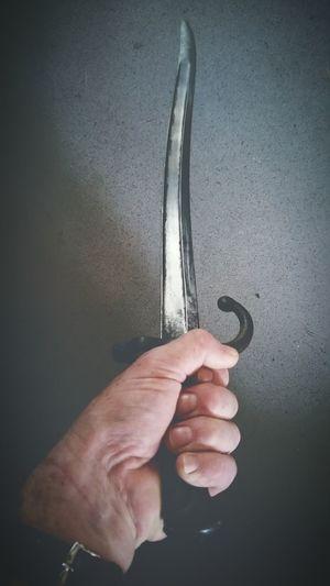 My Hand  Freckleseverywhere Blade Sharp French Sabre/bayonet Bayonet Ww2 Cold Steel