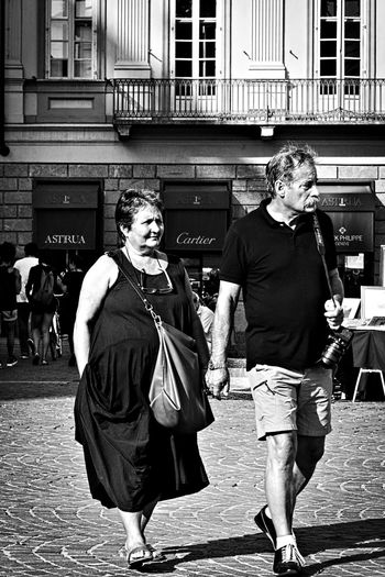 Everlasting love. Adult Black And White Black And White Photography Bnw City City Life Everlasting Love Lifestyles Love Marriage  married couple Outdoors People Person Real People Senior Adult Street Street Life Street Photography Togetherness Torino Italy Turin Turin Italy Walking People Monochrome Photography Stories From The City Inner Power This Is Aging Adventures In The City This Is My Skin