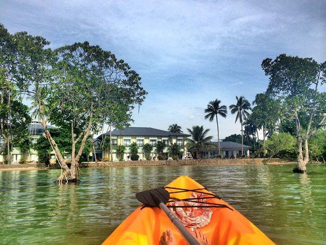 Hello World Enjoying Life Kayaking GoPro Hero3+..