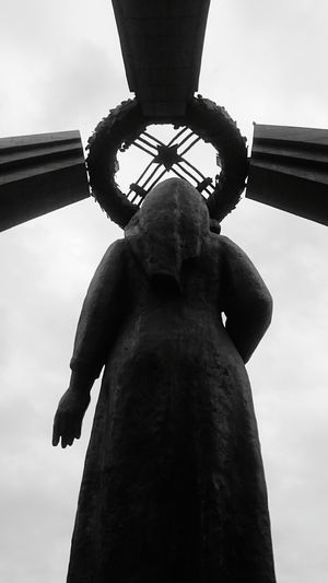 Soviet Monument Soviet Art Lookslike Cross Victory Monument Redstar Soviet Sculpture Communist Soviet Star Victory Victory Statue The Photojournalist - 2016 EyeEm Awards The Street Photographer - 2016 EyeEm Awards Sculpture Monument Original Experiences Fine Art Photography My Best Travel Photo