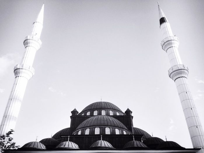 Low Angle View Of Historic Mosque Against Sky