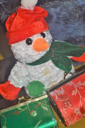 Art And Craft Celebration Christmas Close-up Cold Temperature Creativity Decoration Holiday Human Representation Indoors  Male Likeness No People Red Representation Snow Snowman Stuffed Toy Toy Winter