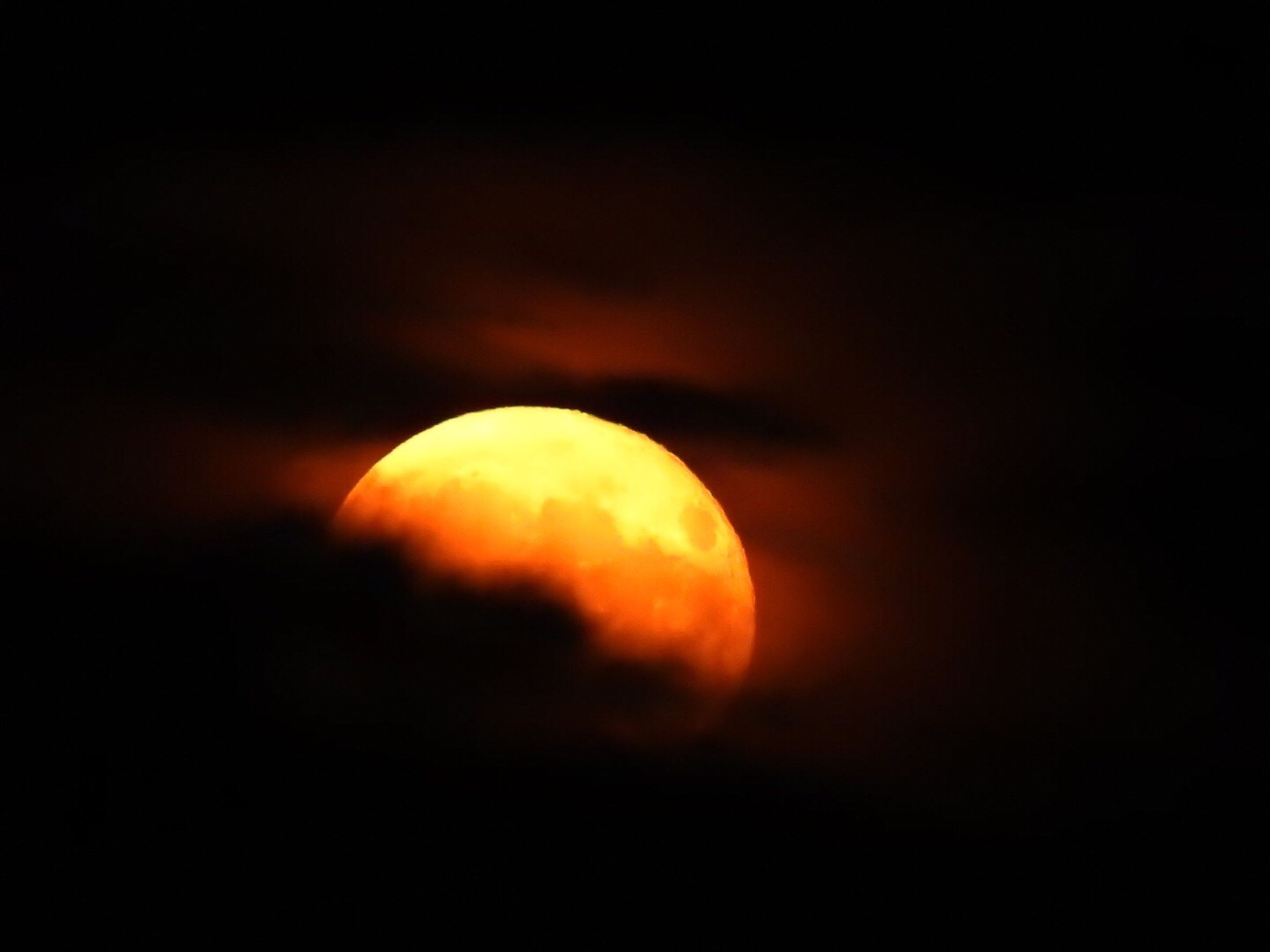 orange color, yellow, close-up, no people, sky, nature, outdoors, beauty in nature, night, astronomy