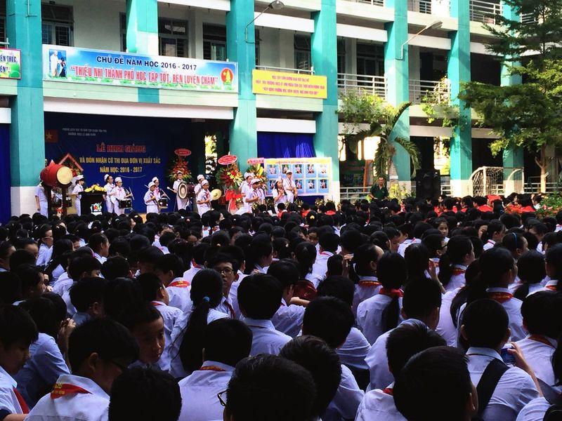 The Color Of School in Saigon