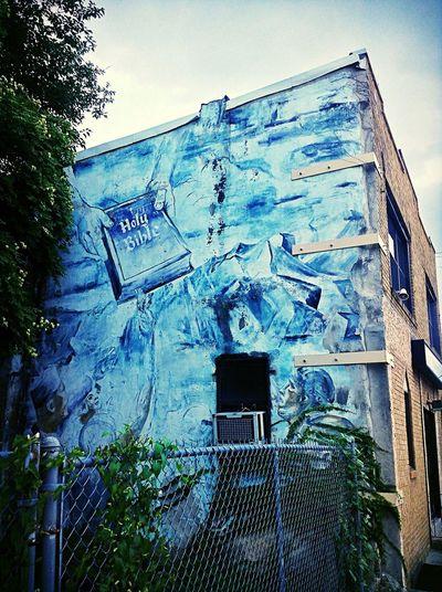 Mural Mural Art Ghetto Neighorhood Biblical  Religious  Religious Art