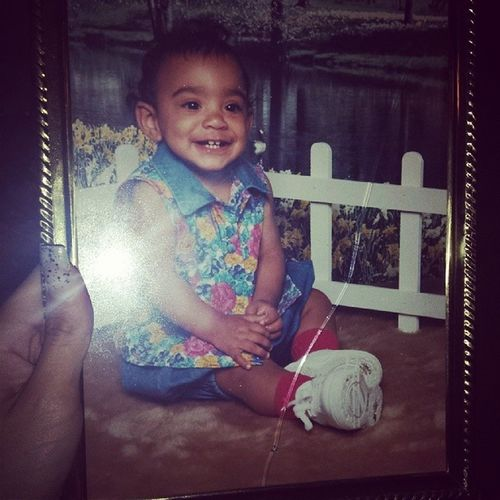 Baby Geli! Mommy always had me in dope outfits. Cutethang Babyoddbeauty