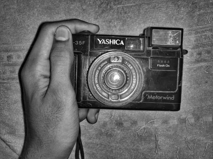 Human Hand Human Body Part Photography Themes Old Camera I Found In My Garage Mobilephotography