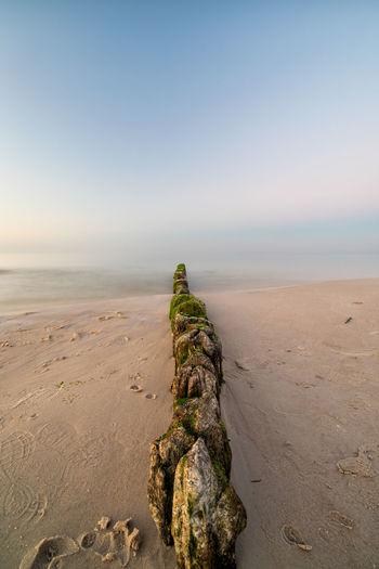 Baltic Baltic Sea Baltimore Poland Polska Beach Beauty In Nature Day Horizon Horizon Over Water Idyllic Land Nature No People Non-urban Scene Outdoors Rock Sand Scenics - Nature Sea Sky Solid Tranquil Scene Tranquility Water