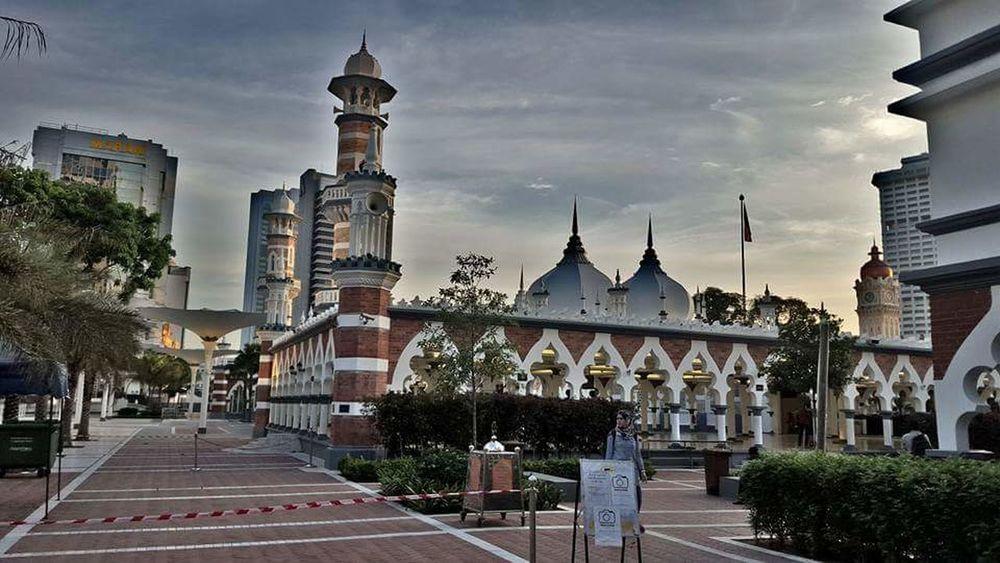 Kualalumpur Malaysia Architecture Masjid Jamakmosque Muslimstyle