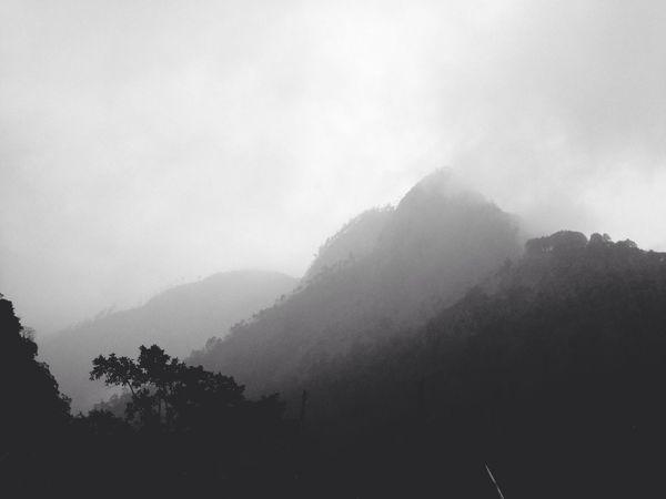 Cold Mountain Donfilter Blackandwhite Landscape