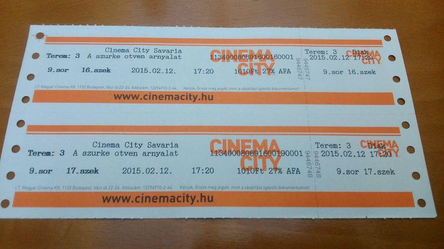 Cinema Times Fifty Shades Of Grey Premier ;-) <3