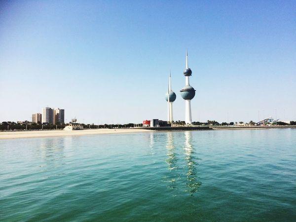 Kuwait Towers Kuwait City Built Structure