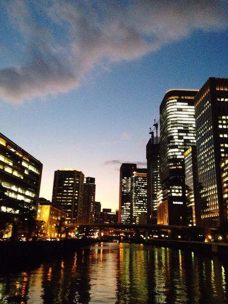 Cloud And Sky Water_collection OSAKA Sunset