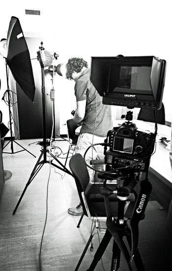 Working Hard Videomaker Canon Taking Photos