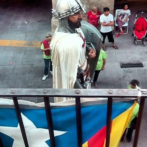 Gegants Estelada Independencia Fmlesborgesblanques