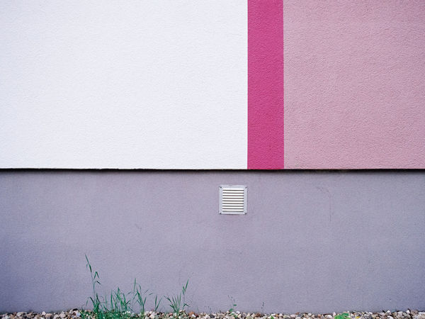 Analogue Photography Colors Colorful Façade Berliner Ansichten Film Photography Nikon FA Kodak Gold 200 35mm Film Architecture Building Exterior Built Structure Close-up Day Exterior No People Outdoors Purple Wall - Building Feature Copy Space Empty Backgrounds No People
