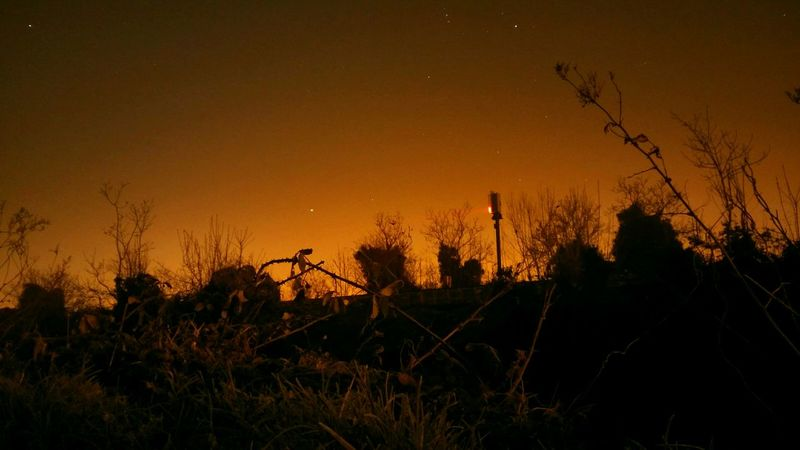 Frosty Night Stars Night Shots  Ireland Frosty night in Ashtown
