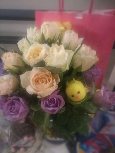 Flower Flower Head Bouquet Rose - Flower Petal Close-up