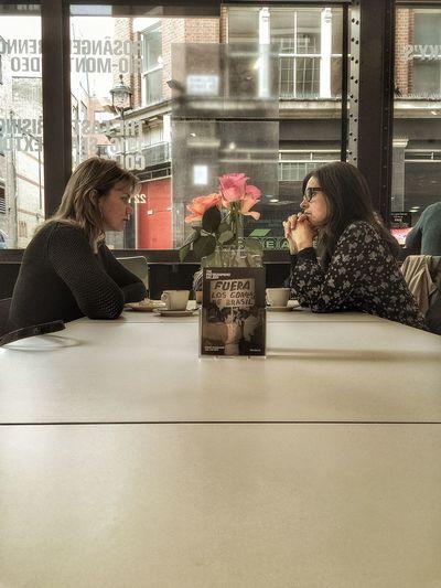 Intense friends! Friends Talking London