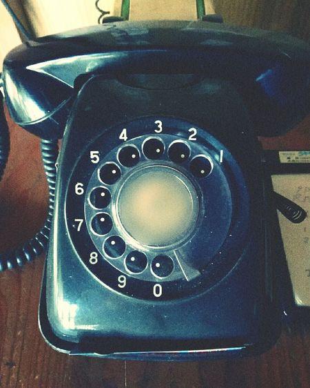 黒電話 Black Rotary-dial Telephone 祖母宅の現役です✌