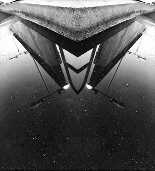 Puddle reflections. Reflections Puddle Reflections Puddles Lamppost Streetlights Reflection Street Reflections Street Photography Urban Landscape Lights EyeEm Gallery Streetphotography Urban Photography EyeEm Best Shots Black And White Black & White EyeEm Puddle EyeEmBestPics Check This Out