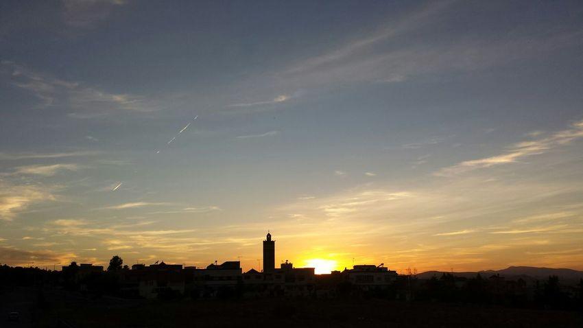 My Neighborhood The Purist (no Edit, No Filter) Beatiful Sky Sunset Oujda City, Morocco الحمد_لله سبحانك ربي Quiet Moments