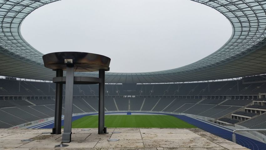 Berlin Stadium Soccer Field Olympic Olympic Stadium EyeEmNewHere