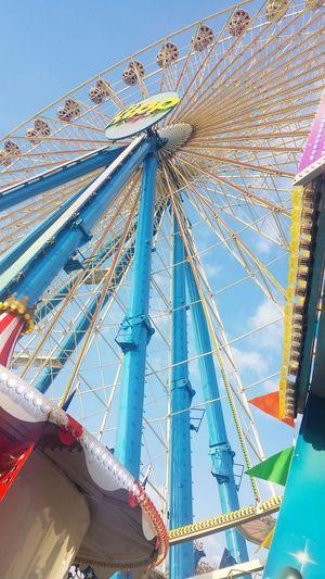 Ferris Wheel Germany Photography Köln Cologne Kirmes Kölndeutz