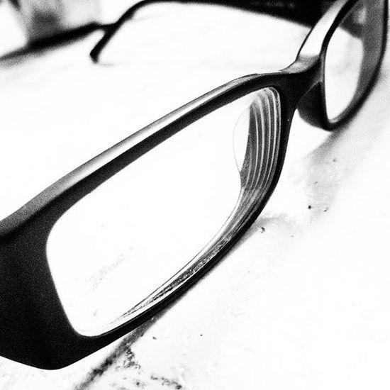 Vision (Day 62 of 366) Glasses Sight Vision B +w Nickblak